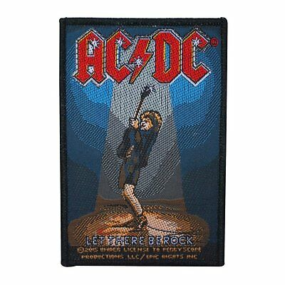 Ac/dc - Let There Be Rock - Woven Patch - Brand New - Music Band 2834