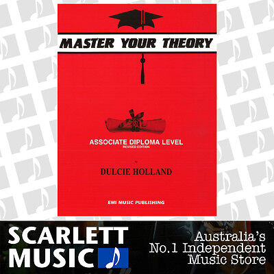 Master Your Theory - Associate Diploma Level Revised Edition - Dulcie Holland