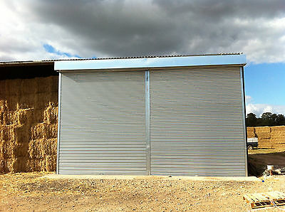 Brand New Electric Roller Shutter Door In Galvanised Steel New Ready To Fit