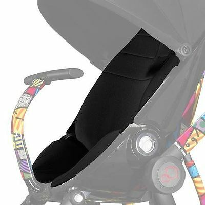 Quinny Britto Moodd Seat Pad Black Padded Replacement Seat for Moodd Stroller