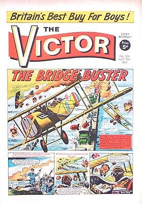 VICTOR - 29th JULY 1967 (24 - 30 July) - RARE 50th BIRTHDAY GIFT !! VG+....eagle