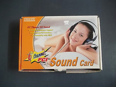 Digital 3D Pro PCI-Express 6-Channel Audio Sound Card V5.1 With DVD