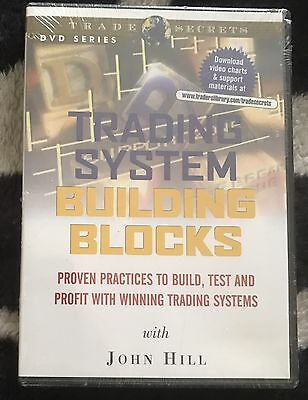 TRADING SYSTEM - BUILDING BLOCKS - Trade secrets DVD - NEW & SEALED