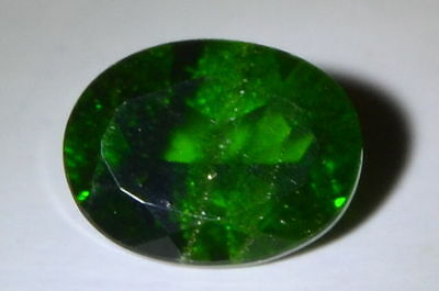 """""""NICE"""" 2.09cts Natural Untreated Emerald Green Oval Chrome Diopside Gemstone."""