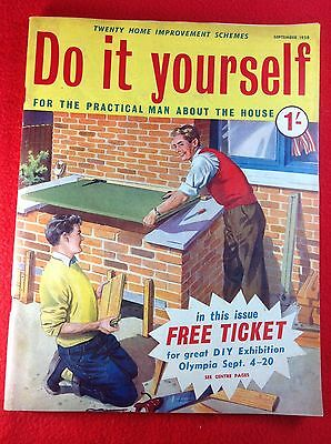 Vintage do it yourself magazine september 1958 450 picclick uk vintage do it yourself magazine september 1958 solutioingenieria Gallery