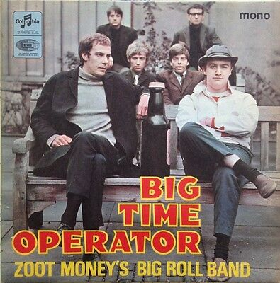 Zoot Money's Big Roll Band 'big Time Operator' Uk Columbia E.p. Stunning Cond.