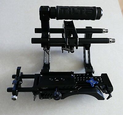 Tilta III Pro C shape arm cage support with 15mm rods for DSLR Rig