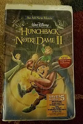 The Hunchback of Notre Dame II (VHS, 2002) Brand New Sealed Fast Shipping!