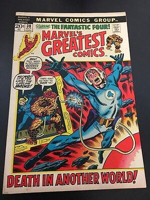 Marvel's Greatest Comics  # 38 Cents Issue Fantastic Four BRONZE
