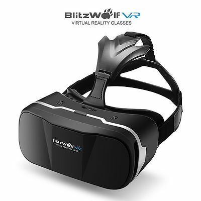 BlitzWolf® BW-VR3 3D VR Glasses Virtual Reality Headset For 3.5-6.3 inch Mobile