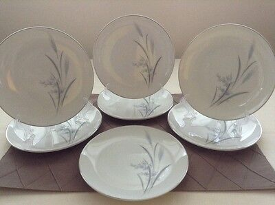 Castle Court Wheat Harvest Fine China Made In Japan 7 Salad Plates
