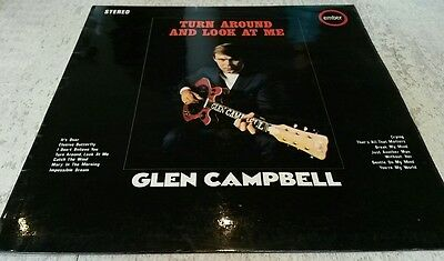 Glen Campbell - Turn and look around me. Vinyl LP record.