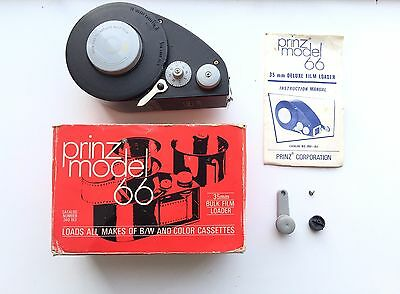 Prinz Model 66 Daylight Bulk Film Loader For 35mm Film In Box