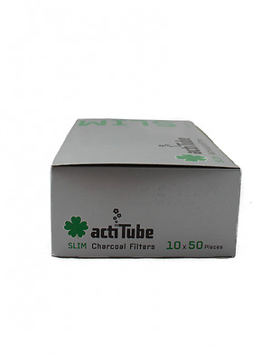 actiTube Aktivkohle Filter Slim 7.1mm Aktivkohle Tune filter 3 Boxen (x1500)