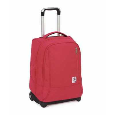 TROLLEY TINDY tinta unita ROSA plain INVICTA zaino 36 LITRI cartella BACK PACK s