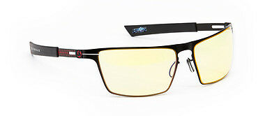 Gunnar Heroes Of The Storm-Strike Fire Frame Gaming Glasses w/ Amber Lens In Box