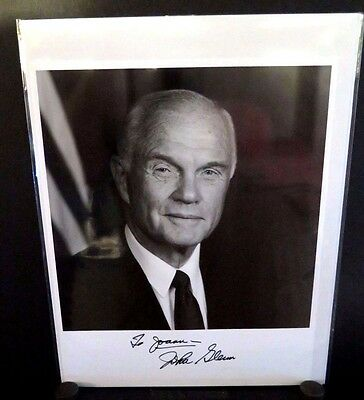 Astronaut John Glenn Signed 8X10 Photo Autograph Space Moon Rocket Nasa