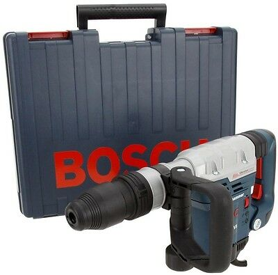 Bosch 13Amp Corded SDS-max Variable Sp Hammer Auxiliary Side Handle Carryin Case