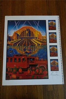 Grateful Dead Terrapin Station Printers Proof Signed by Mouse/Kelly #350/500