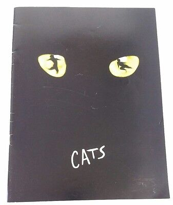 Vintage 1981 Cats Souvenir Brochure First performance New London Theatre