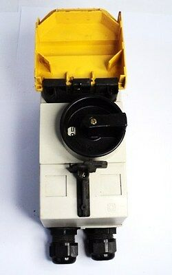 Moeller Pkzmo-6.3 Rotary Safety Switch W/ Motor Protective Controller