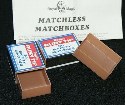 Haunted Matchboxes --nice durable version of the pocket magic classic   TMGS