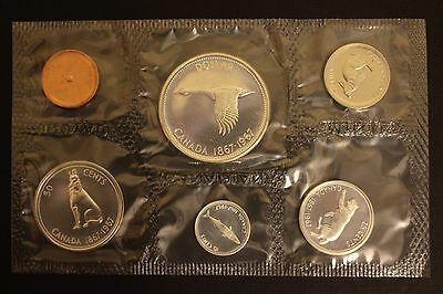 1967 centenial 6 coin canada proof like. set