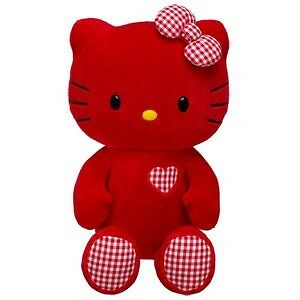 Build A Bear Factory Very Rare & Htf Valentine Red Hello Kitty Bnwt