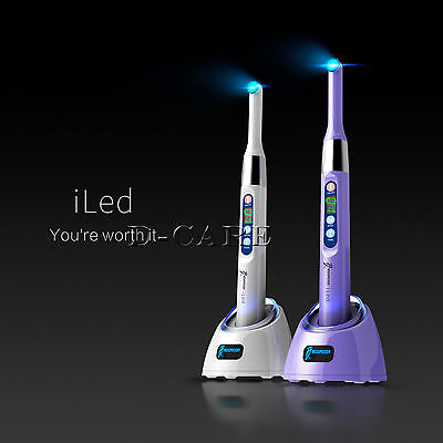 Dental Woodpecker iLED Wireless Curing Light Lamp one second Curing 2300mw/c㎡