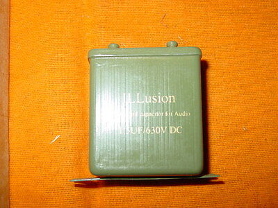 ILLusion NOS paper in oil capacitor for audio 1,5uF 630VDC (2pc)