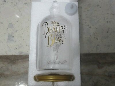 Official Disney Beauty And The Beast Enchanted Rose Glass & Candle Movie Promo