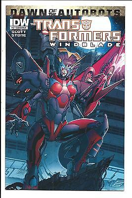 Transformers: Windblade # 3 (Sub-Cover, June 2014), Nm New