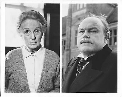 Joan Hickson/agatha Christie's Miss Marple/8X10 Original Photo Cc21445 6-67