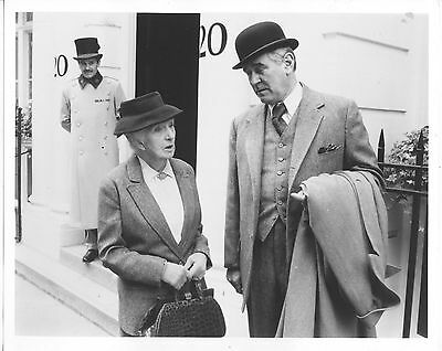 Joan Hickson/agatha Christie's Miss Marple/8X10 Original Photo Cc21447 6-67