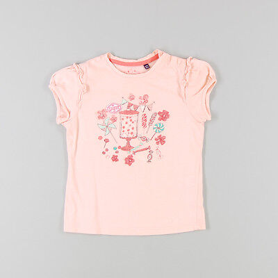Camiseta m corta Candy de color Coral de marca Sergent Major 6 Años