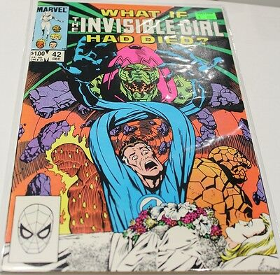 What If? #42 (Dec 1983) - What If The Invisible Girl Had Died? - Marvel Comics
