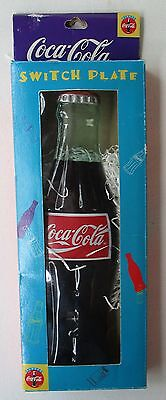 Coca-Cola Bottle Single Light Switch Plate Cover New
