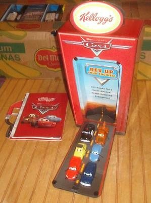 RARE 2006 Disney CARS Kelloggs Cereal Toy Advertising Dealer Promo Prototype Set