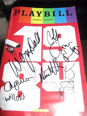 1984 Pride Broadway Autographed Playbill LAST TWO !
