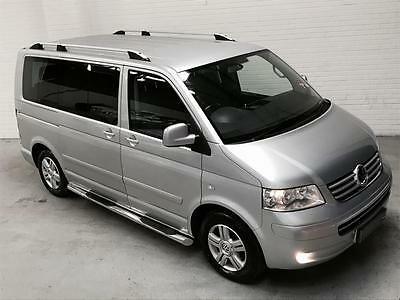 VW Volkswagen Caravelle Executive 2.5 TDi Manual Diesel 2007 Silver