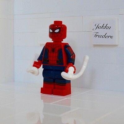 Spider-Man Homecoming Genuine New Lego Minifigure From Set 76082 Tom Holland