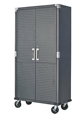 steel Storage Cabinet with casters
