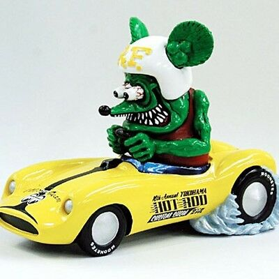 Used! Excellent! Limited Rat Fink  16th HOT ROD Custom Show 2007 MOONBEAM