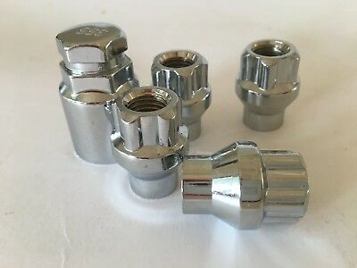 Holden Commodore Pre VE - Extra Turn Open End Lock Nuts 12mm x1.5 Studs
