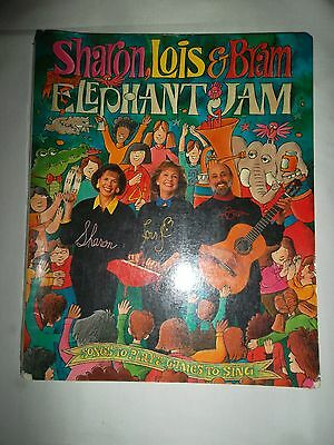 Sharon, Lois & Bram Elephant Jam Songs to Play & Games to Sing Book Spiral Bound
