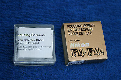 Nikon F4 focussing Screen - New Old Stock