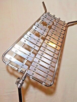 Vintage Glockenspiel Decatur Model 310 w/ Ludwig Stand - Bell Lyra Light-Weight