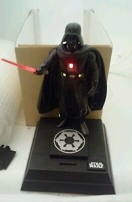 STAR WARS Darth Vader Piggy Bank Figurine Interactive Talking Collector Item