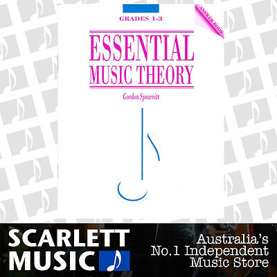 Essential Music Theory ANSWER Grades 1-3 ( One to Three ) Spearritt Book *NEW*