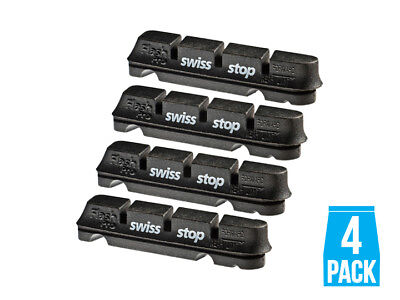 Swissstop Flash Pro Alloy Rim Original Black Full Set Brake Pads